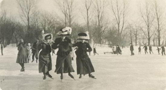 Women-Ice-Skating by J.R. Taylor