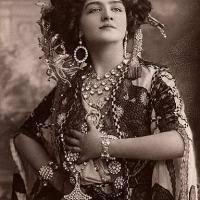 A Collection of Photos Featuring Edwardian Beauty Lily Elsie