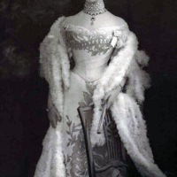 Models Wearing Turn Of the Century Dresses by House of Worth