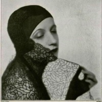 Vintage Photos of Elegant Millinery by Madame Agnès