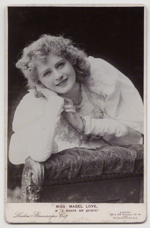 NPG x12571; Mabel Love in 'A Modern Don Quixote' by London Stereoscopic & Photographic Company