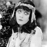 Theda Bara in Lost Film Salomé (1918)