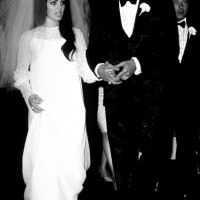 ELVIS PRESLEY & PRISCILLA WAGNER Wedding May 1, 1967