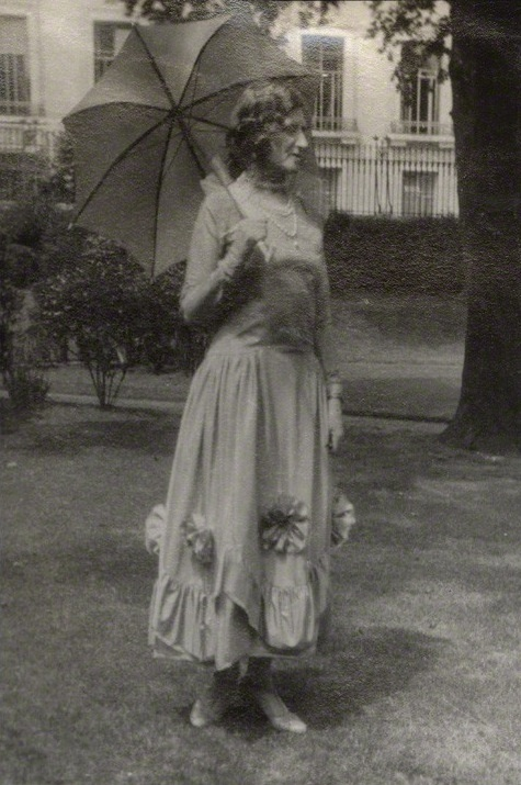 NPG Ax143221; Lady Ottoline Morrell possibly by Lady Ottoline Morrell