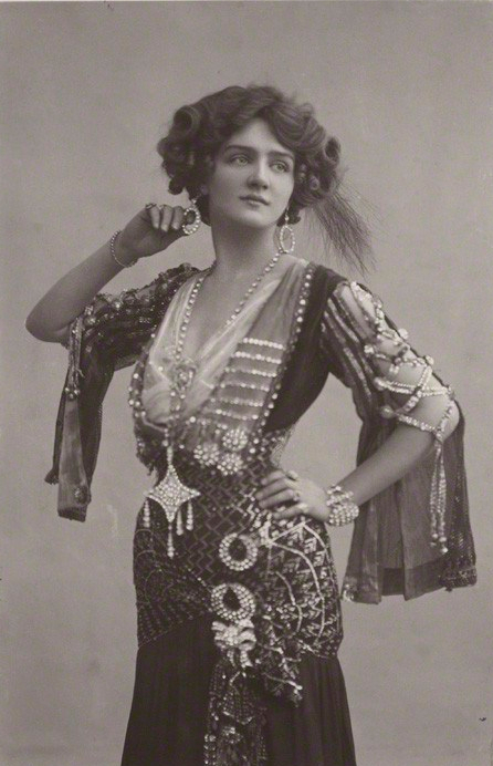 NPG x135274; Lily Elsie (Mrs Bullough) as Sonia in 'The Merry Widow' by Foulsham & Banfield, published by  Rotary Photographic Co Ltd