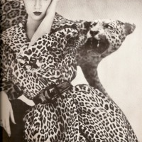 Dovima and the Leopard by Richard Avedon (1950)
