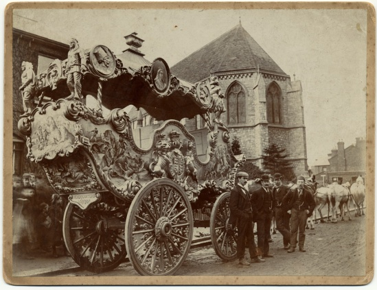 circus.sanger.carriage1800s