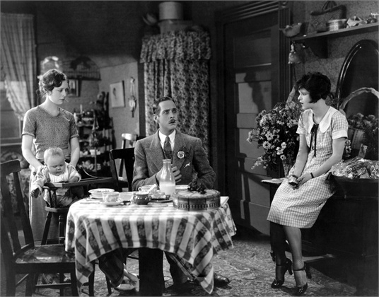 IT, from left: Priscilla Bonner, William Austin, Clara Bow, 1927
