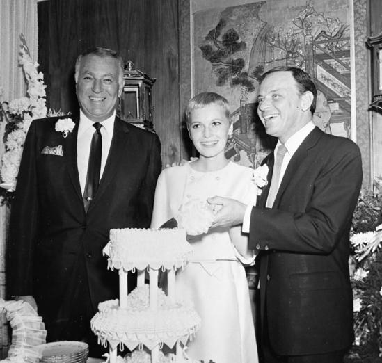 mia farrow, frank sinatra wedding 1966