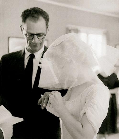 marilyn monroe amp arthur miller wedding 1956 from the