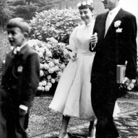 Audrey Hepburn and Mel Ferrer Wedding (1954)