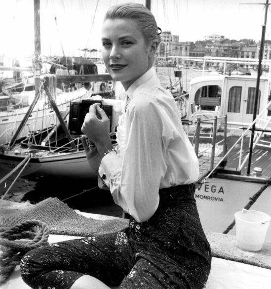 Grace Kelly au Festival de Cannes 06 mai 1955 France