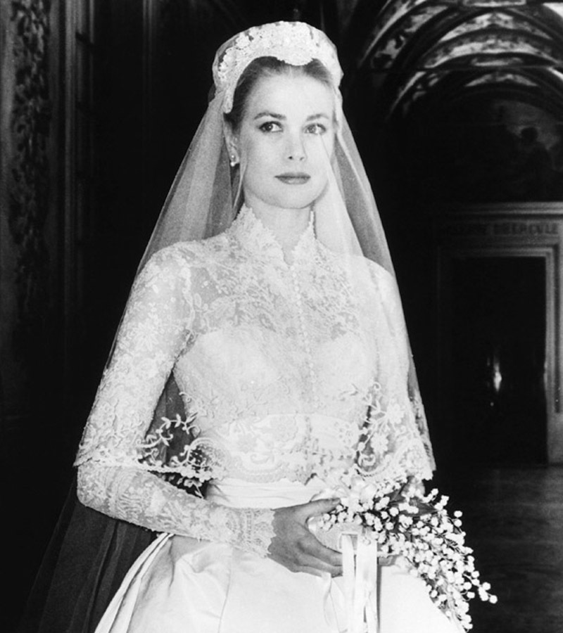 replica priscilla presley wedding dress