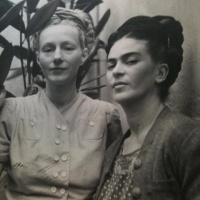 Frida Kahlo and Emmy Lou Packard