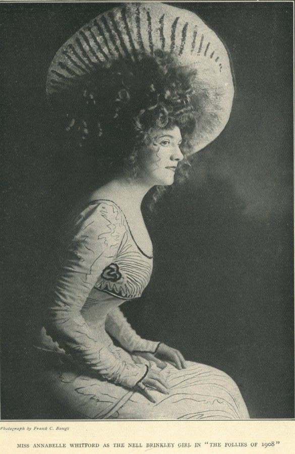 Early Film Dancer Annabelle Moore 1878-1961  From The -8150
