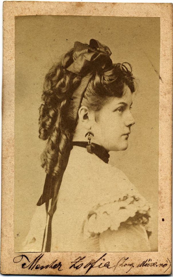 Contemporary Carte De Visite 1860s
