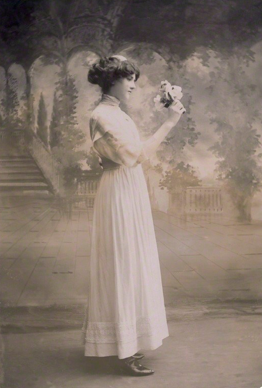 NPG x85690; Mamie Whittaker by Bassano