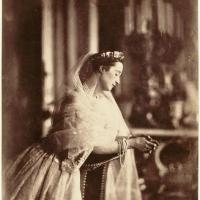 Empress Eugenie by Gustave Le Gray (1856)