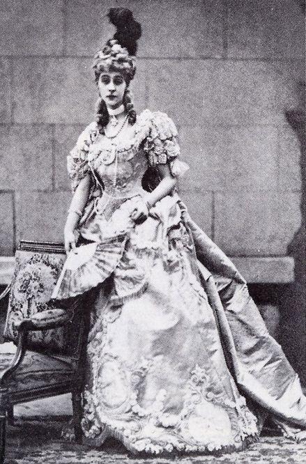 Consuelo Vanderbilt   FROM THE BYGONE