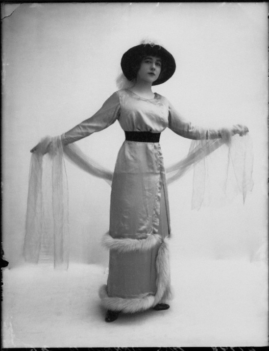 by Bassano, whole-plate glass negative, November 1912
