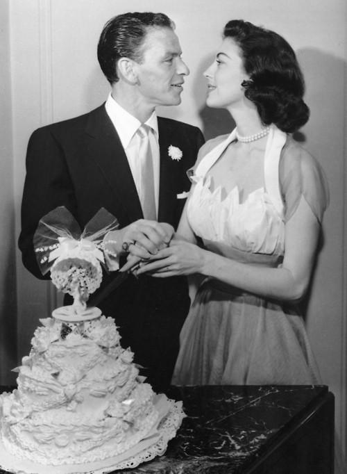 Vintage Photos of Ava Gardner & Frank Sinatra Wedding (1951 ...