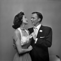 Vintage Photos of Ava Gardner & Frank Sinatra Wedding (1951)