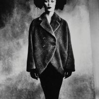 Cristobal Balenciaga Coats photographed by Irving Penn