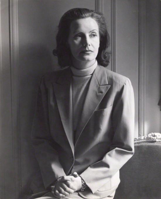 NPG x40108; Greta Garbo by Cecil Beaton