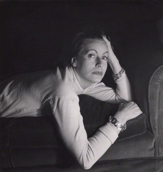 NPG x40118; Greta Garbo by Cecil Beaton