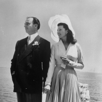 Amazing Photos of Rita Hayworth & Prince Aly Khan Wedding (1948)