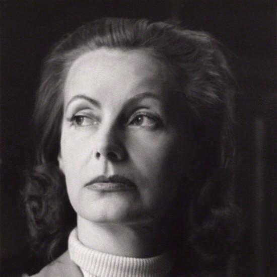 NPG x40109; Greta Garbo by Cecil Beaton