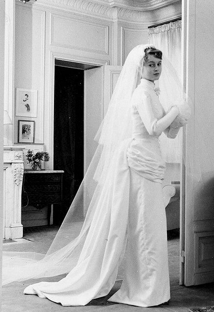 Brigitte Bardot and Roger Vadim\'s wedding (1952) | FROM THE BYGONE