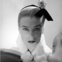 Elegant Vintage Fashion Photos: 1950s Veiled Hats