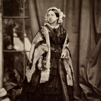 First Public Photo of Queen Victoria (1860)
