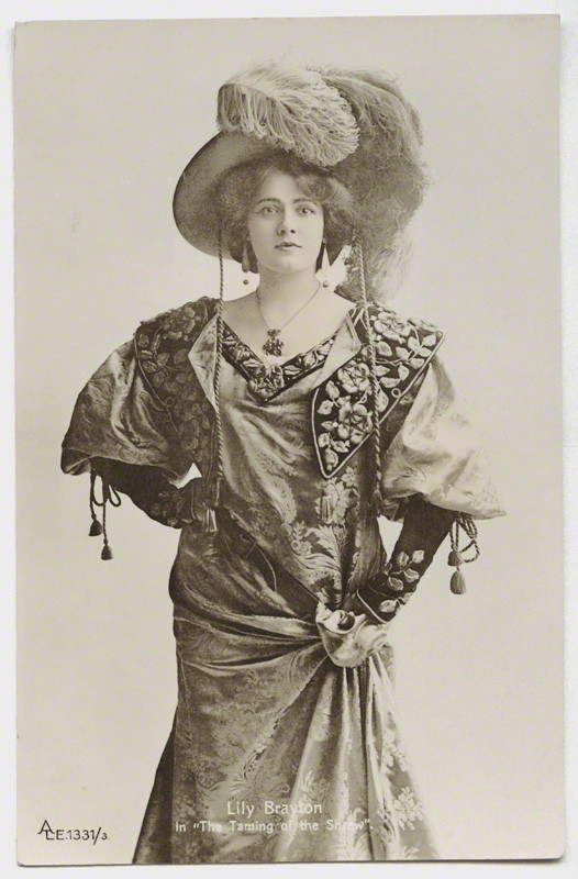 NPG x131450; Lily Brayton as Katherine in 'The Taming of the Shrew' by Rita Martin
