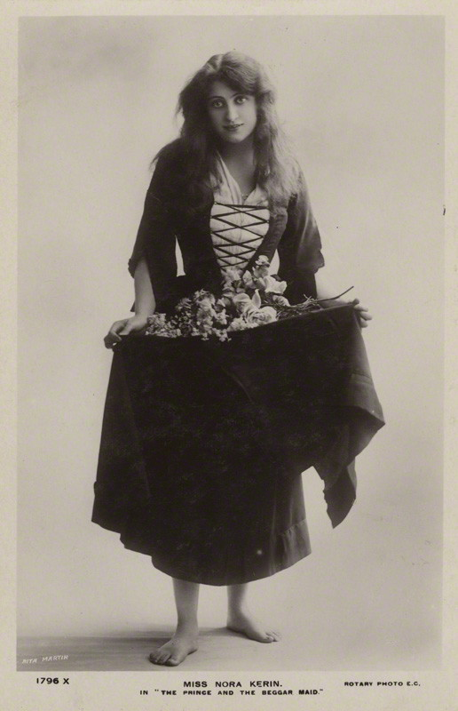 NPG x128831; Nora Kerin in 'The Prince and the Beggarmaid' by Rita Martin, published by  Rotary Photographic Co Ltd