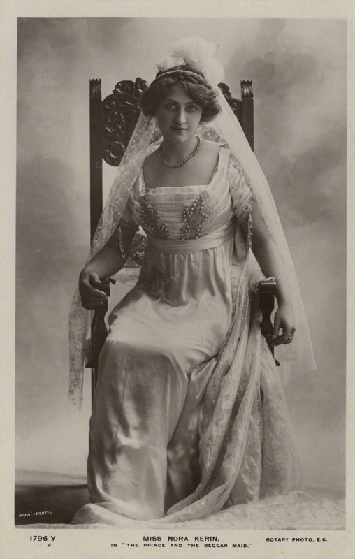 NPG x128832; Nora Kerin in 'The Prince and the Beggarmaid' by Rita Martin, published by  Rotary Photographic Co Ltd