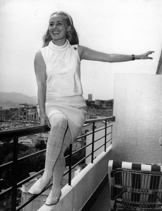 Jeanne Moreau in Cannes, 1966