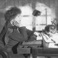 Vintage Photos of Colette by André Kertész (1930)
