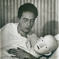 Jean Cocteau in bed with a Mask (1927)