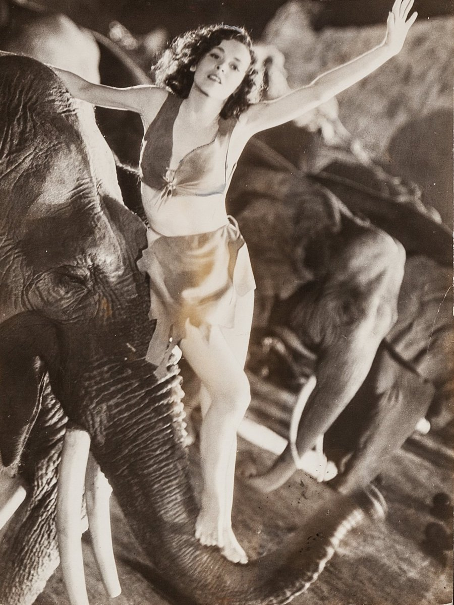 "Maureen O' Sullivan in ""Tarzan and His Mate""  (1934)"