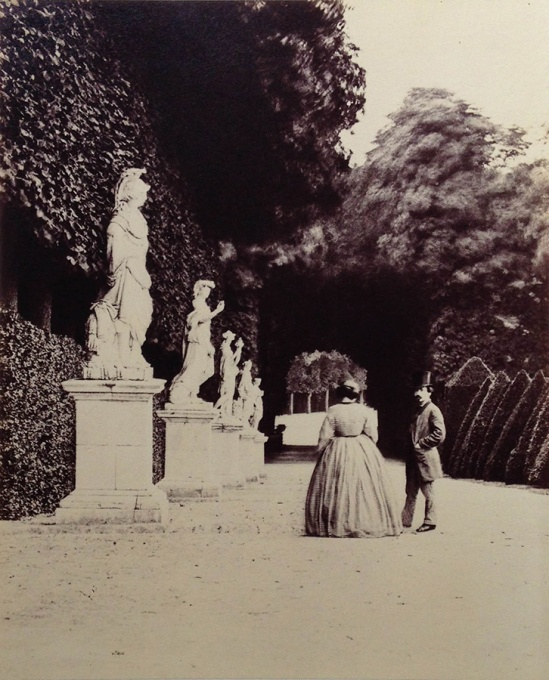 Pierre-Louis Pierson On the Grounds of the Estate of the Duc dAumale