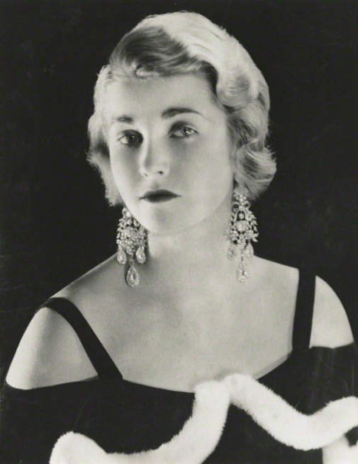 NPG x131740; Barbara Woolworth Hutton by Madame Yevonde
