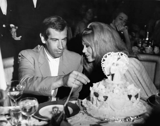 Hochzeit von Roger VADIM und Jane FONDA in Las Vegas, 1965