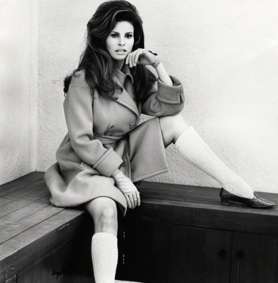 NPG x126949; Raquel Welch by Norman Parkinson