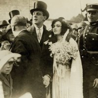Wedding of Pola Negri and Prince Serge Mdivani (1927)