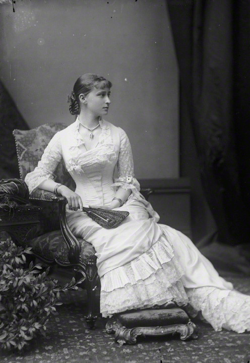 NPG x95938; Princess Elizabeth Feodorovna, Grand Duchess Serge of Russia by Alexander Bassano
