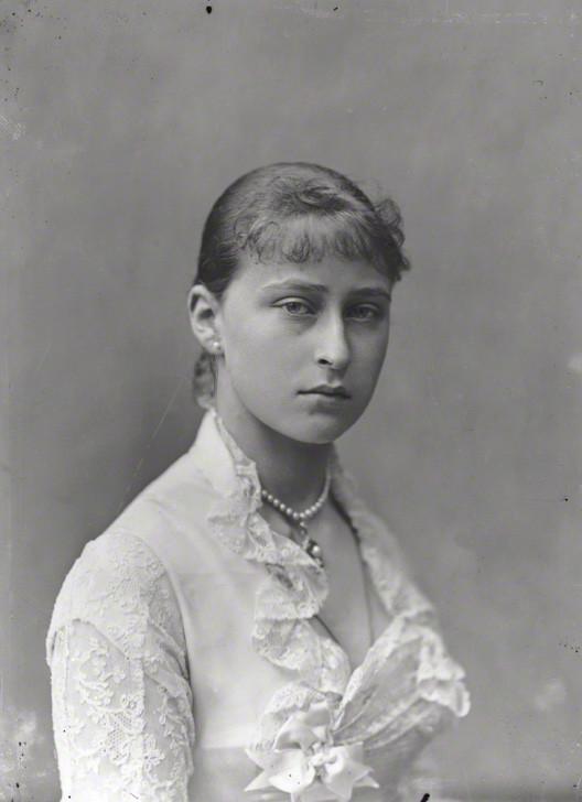 NPG x95947; Princess Elizabeth Feodorovna, Grand Duchess Serge of Russia by Alexander Bassano