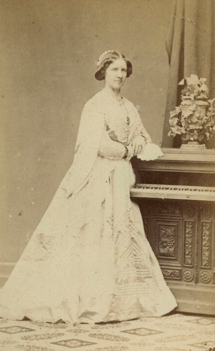 Jenny Lind By Emilie Bieber Albumen Carte De Visite 1860s C National Portrait Gallery London Via
