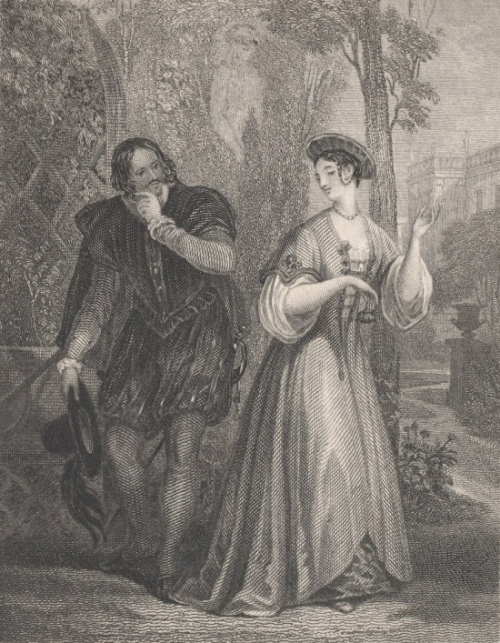 Beatrice_and_Benedick_(Shakespeare,_Much_Ado_About_Nothing,_Act_2,_Scene_3)_MET_DP870119